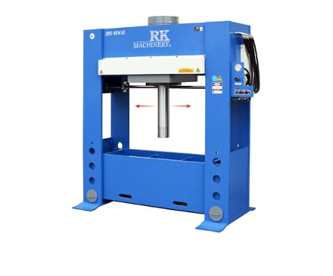 RK Machinery HFP H-Frame Pres